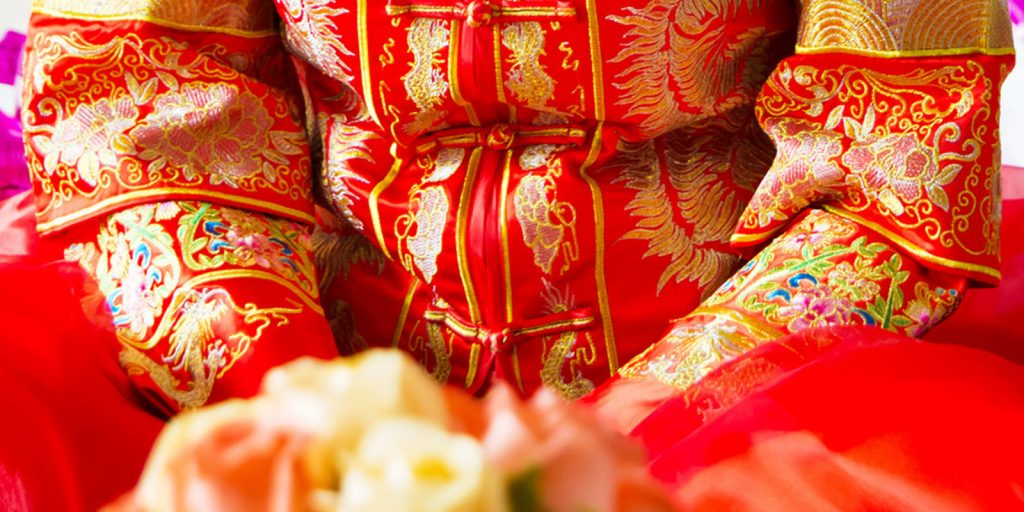 Red Wedding Dress in China