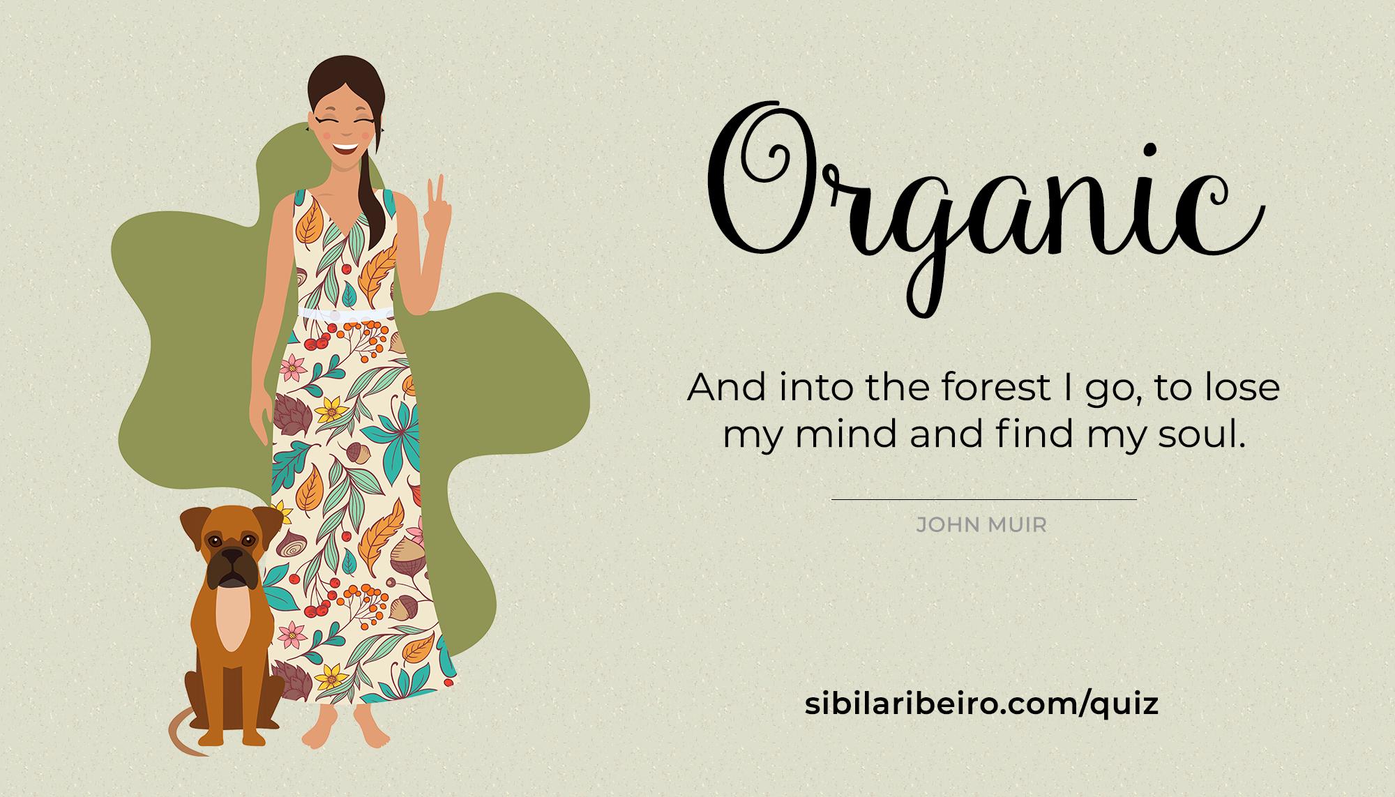 Organic Visual Brand Style